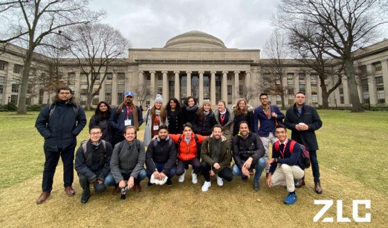 Estudiantes en MIT