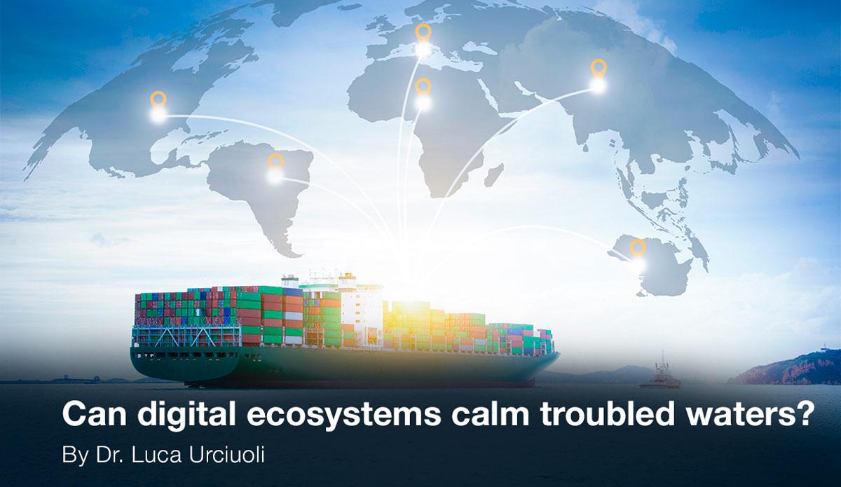 Digital ecosystems for ocean transport