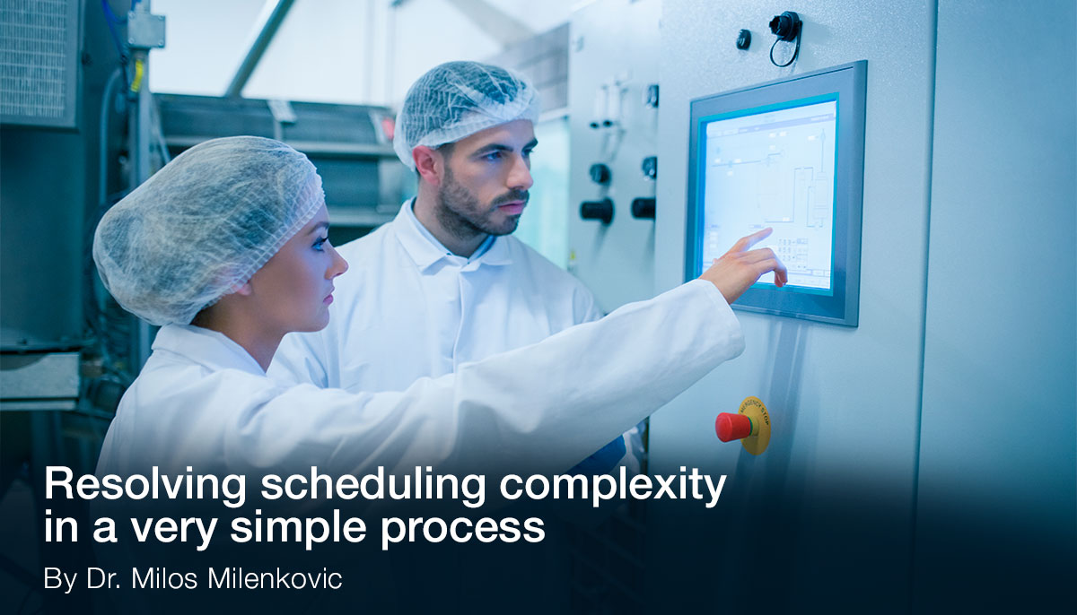 Resolving scheduling complexity